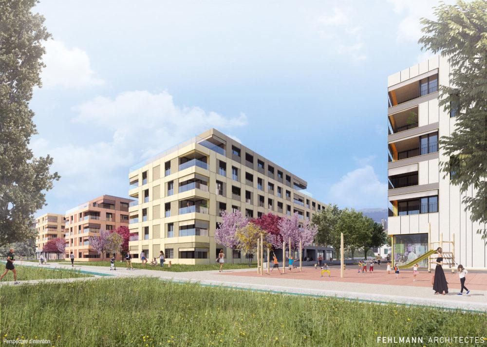 One Planet Living-Orbe-Gruvatiez-quartier durable